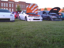 At a local car show with the lolwut crew!