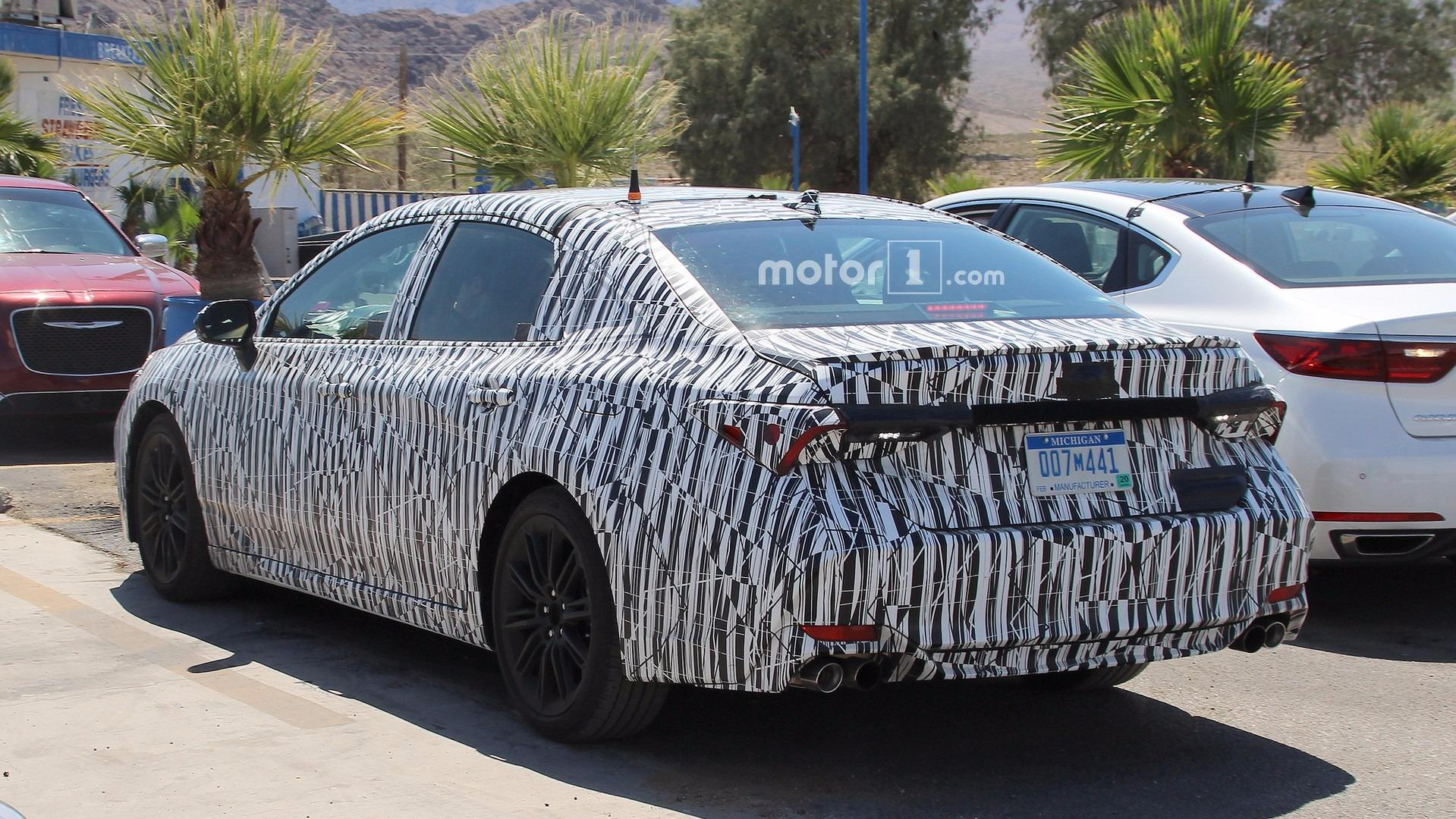 Possible but the spy shots suggest a window in the c pillar like the current generation avalon