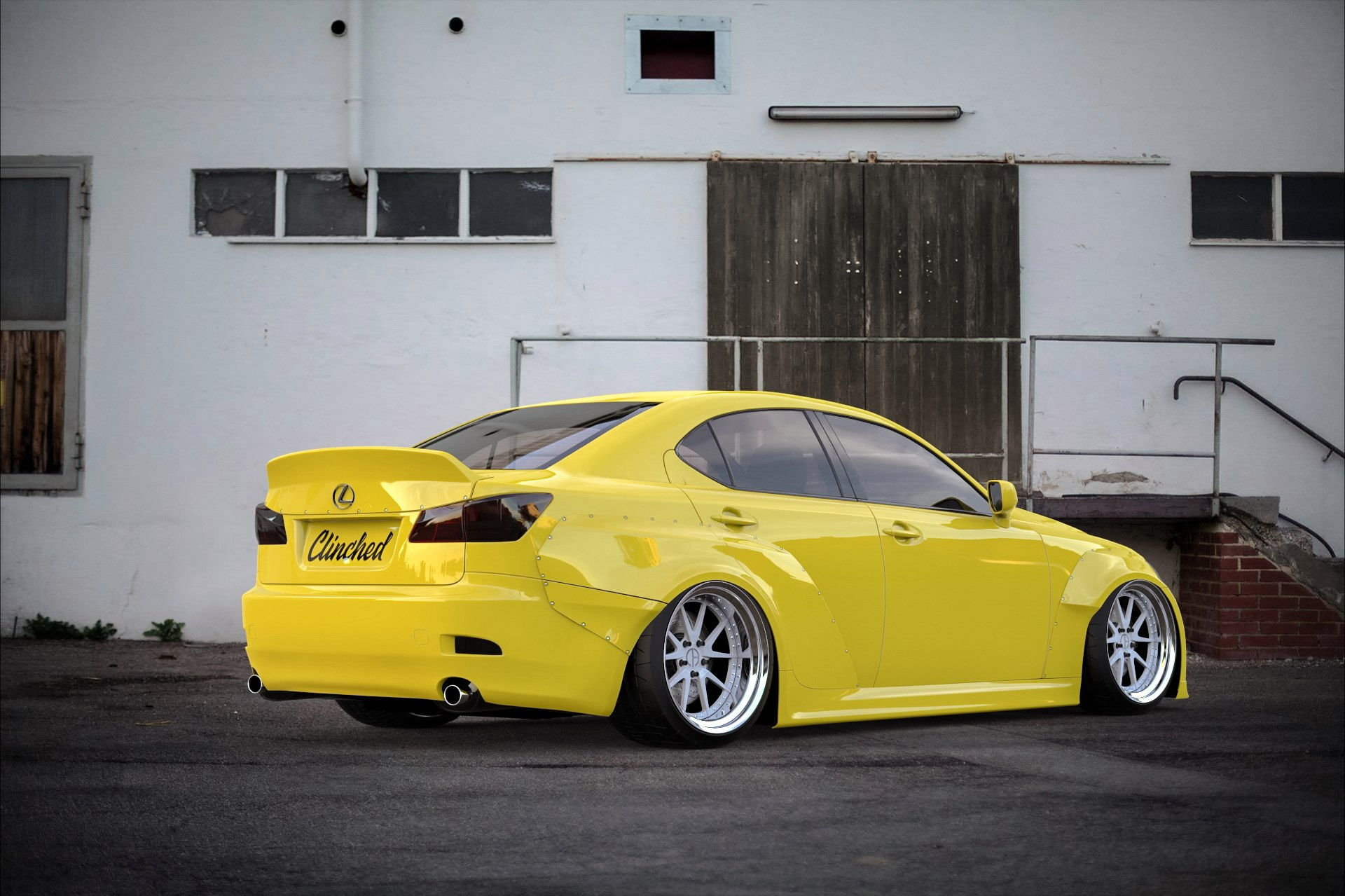 new wide body kit from clinched for 2is page 2 clublexus lexus forum discussion. Black Bedroom Furniture Sets. Home Design Ideas