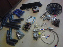 New turbo parts