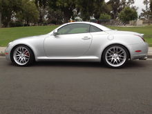 "Lowered 1"" MRR GT7 Wheels"