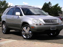Our Lexus RX300