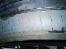 Left front Michelin PSS OEM size