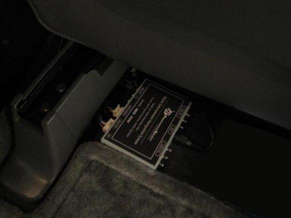 MEIS secured below passenger seat resize