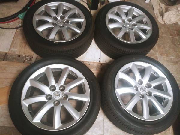 18 Inch Rims And Tires >> 2008 Lexus Ls460 18 Inch Wheels And Tires 600