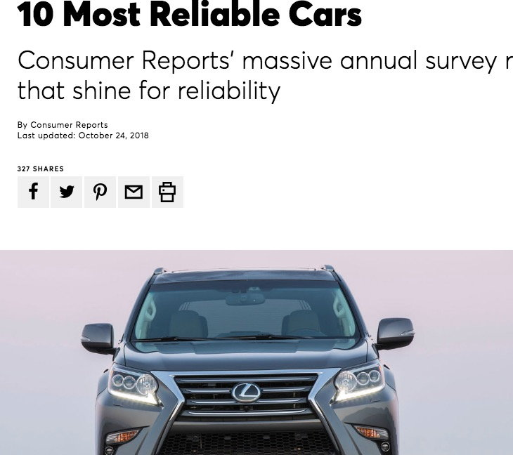 Https Www Consumerreports Org Car Reliable Cars