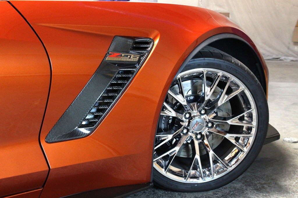 Carbon Fiber Hood and front fender vents - CorvetteForum