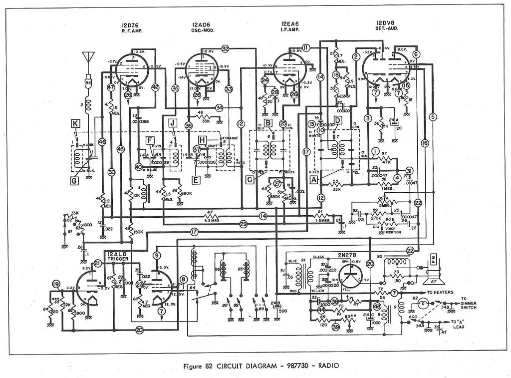 c1  u0026 39 61 radio has no sound - corvetteforum