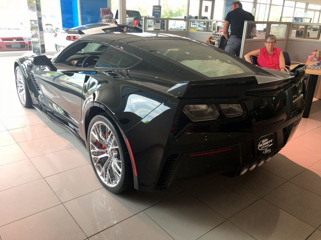 Jeff Schmitt Auto Group >> 2018 Corvette Z06 - Black on Black, Auto, 2LZ, Chrome Wheels! Call 937-207-0117! - CorvetteForum ...