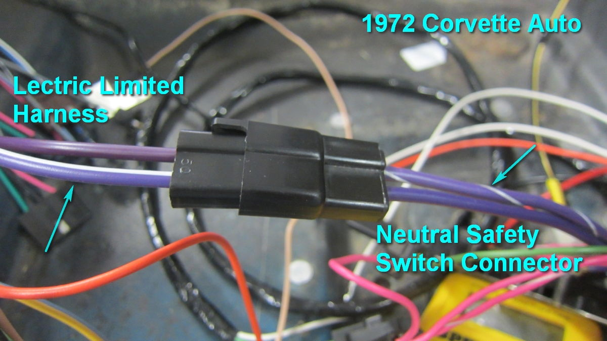 Neutral Safety Switch Wiring '72 Auto Corvetteforum Chevrolet AOD Neutral  Safety Switch Wiring 72 Chevy Neutral Safety Switch Wiring