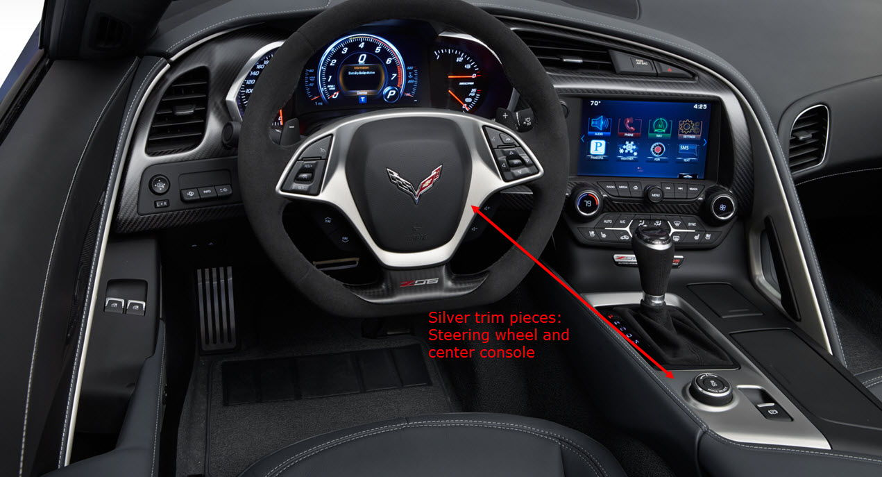 Interior Trim Pieces : Carbon fiber wrap interior trim corvetteforum