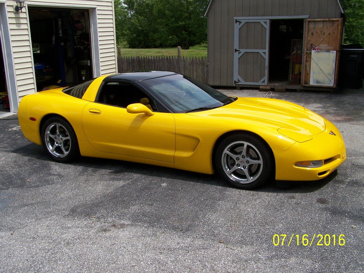 2000 Millennium Yellow C5 Corvetteforum Chevrolet