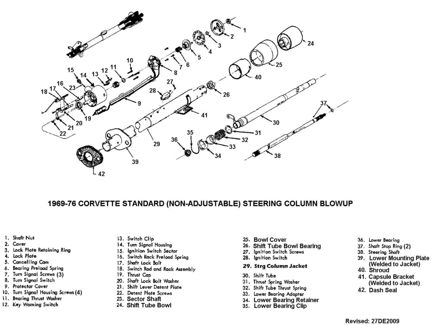 steering column part id needed        - corvetteforum