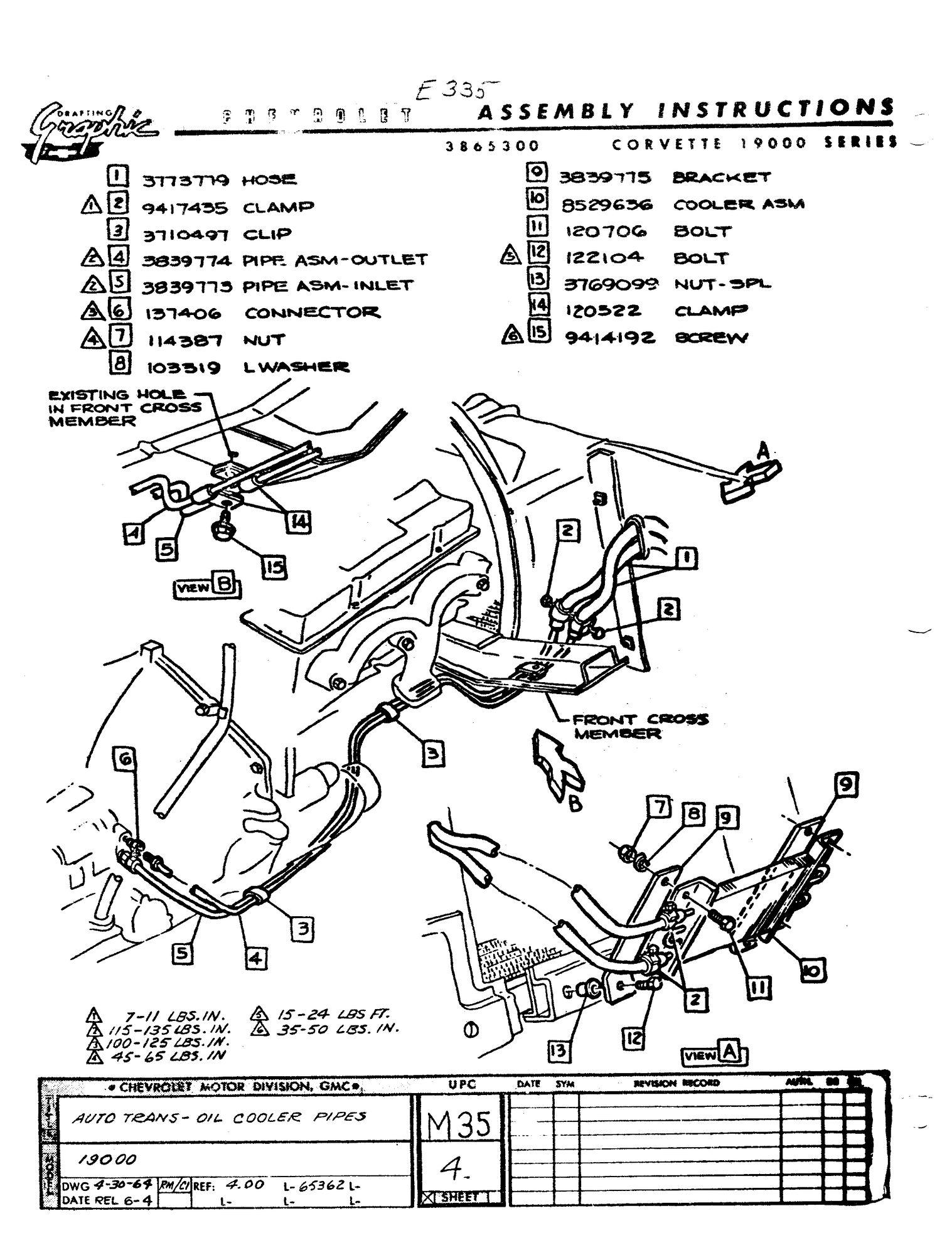 1963 Powerglide Cooler  - Corvetteforum