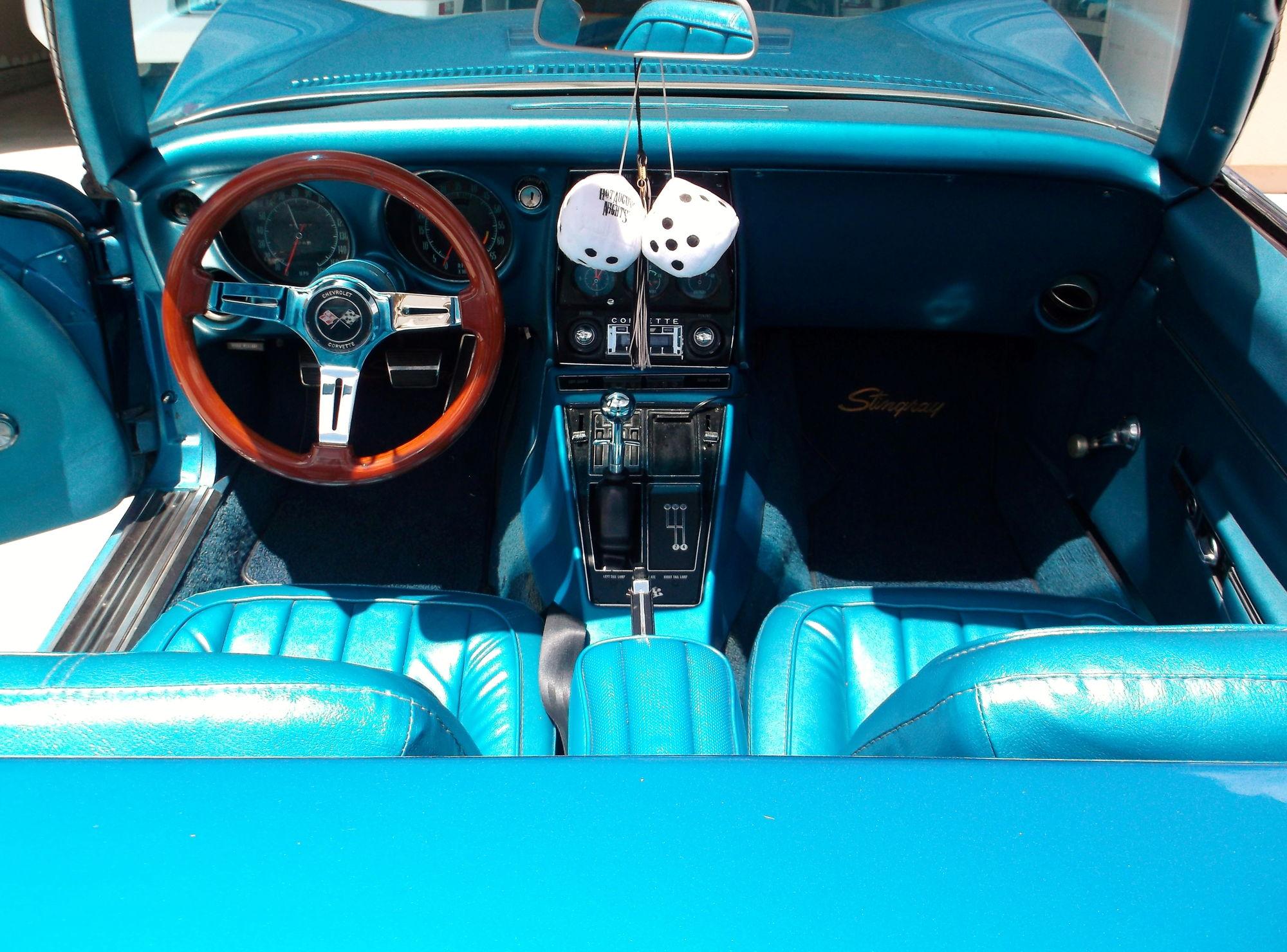 FS Trade 1968 Roadster LeMans blues White Top 35K CorvetteForum