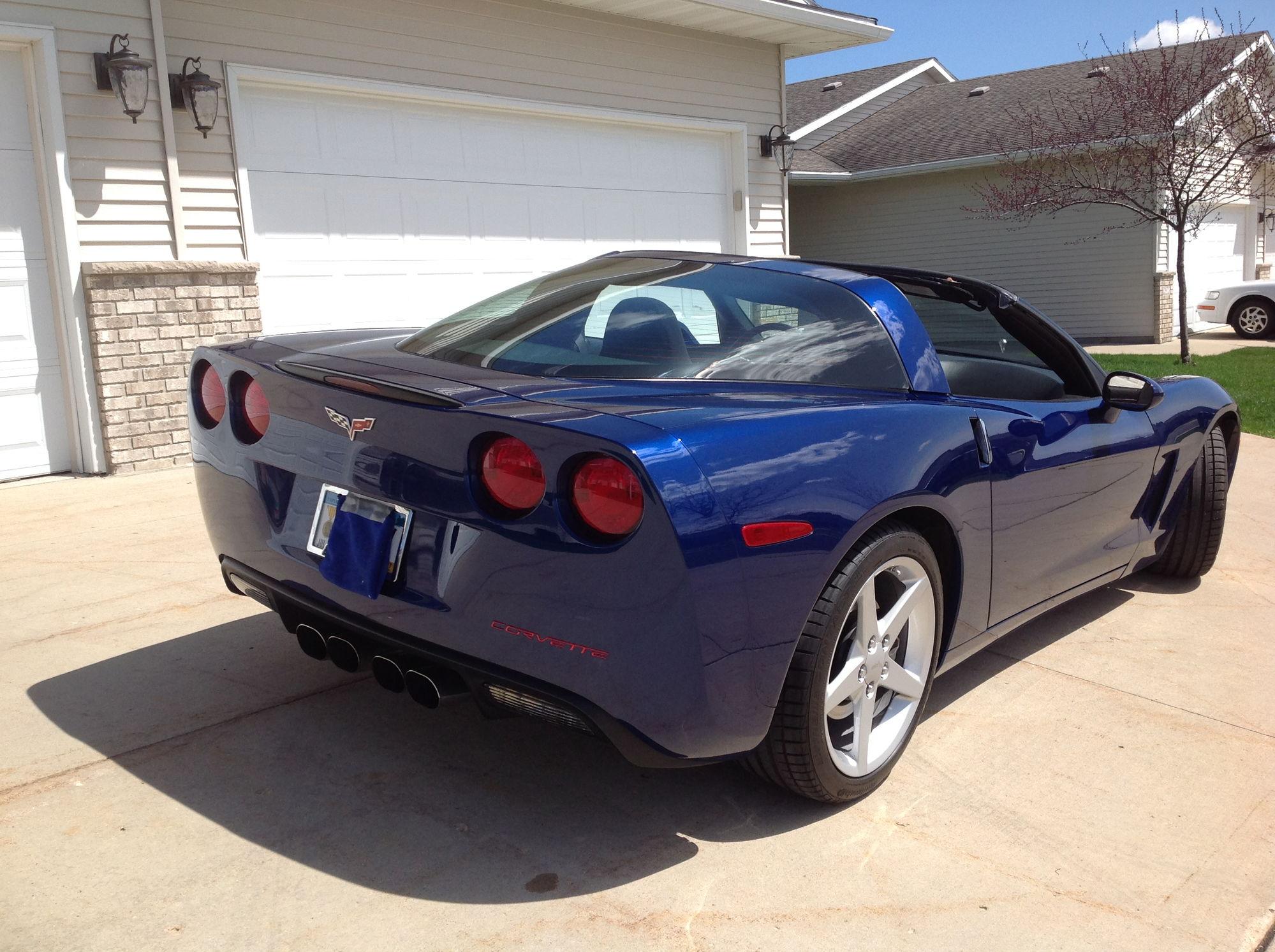 FS For Sale 2005 Corvette Coupe Blue CorvetteForum
