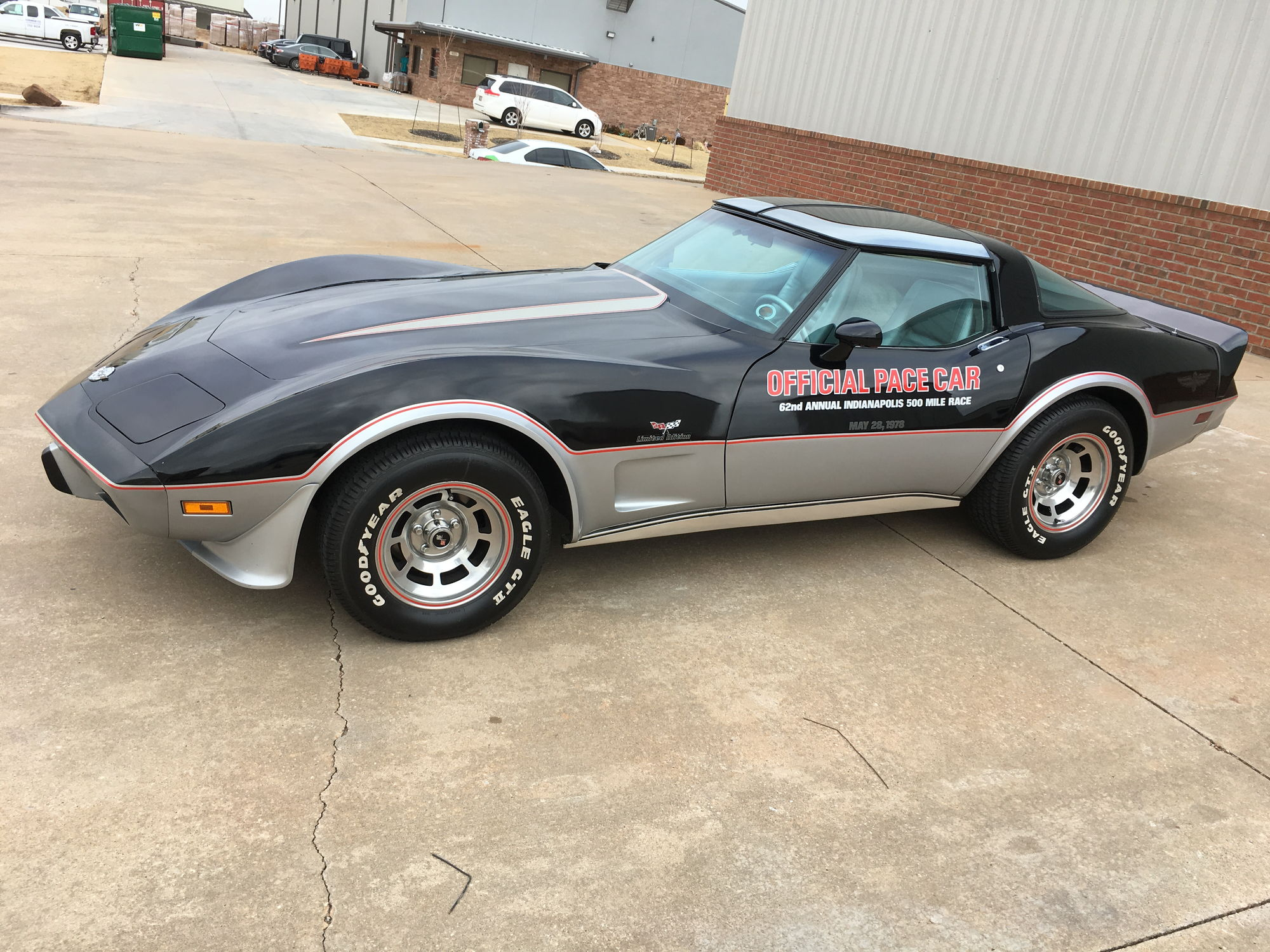 Price drop 1978 corvette pace car l48 automatic been family owned roughly 20 years however time has come to sale priced very reasonable at 25k
