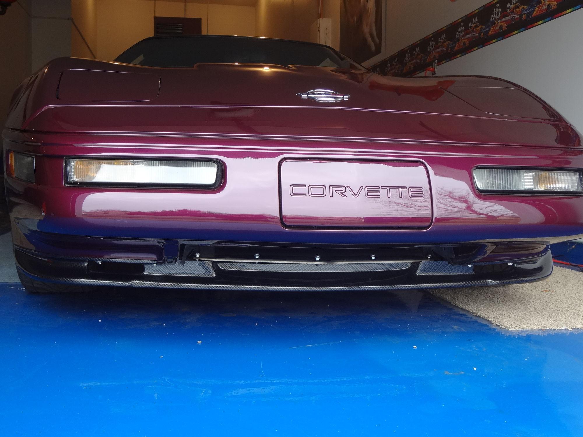 C4 Corvette For Sale >> New Front Splitter Installed Pics! - CorvetteForum ...