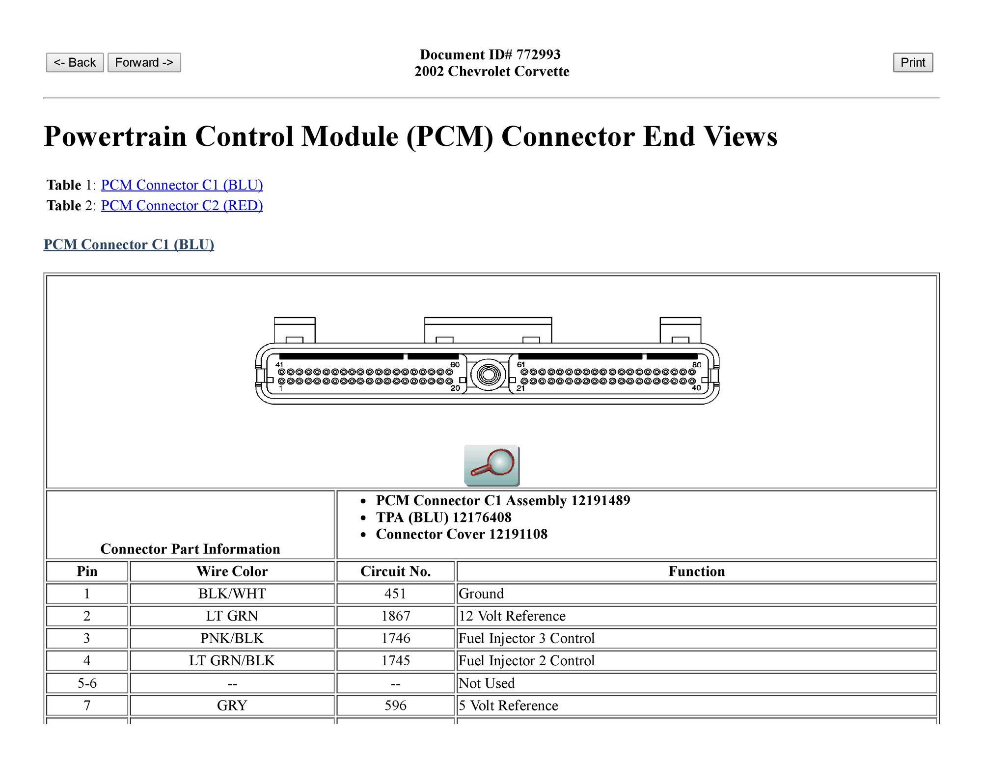 2004 Corvette Pcm Wiring Schematic Circuit Diagram Symbols 1975 Ecu Corvetteforum Chevrolet Forum Discussion Rh Com 1984
