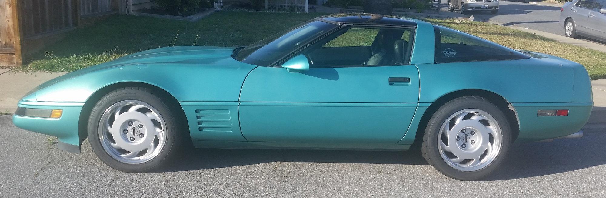 1991 Turquoise Metallic automatic - CorvetteForum