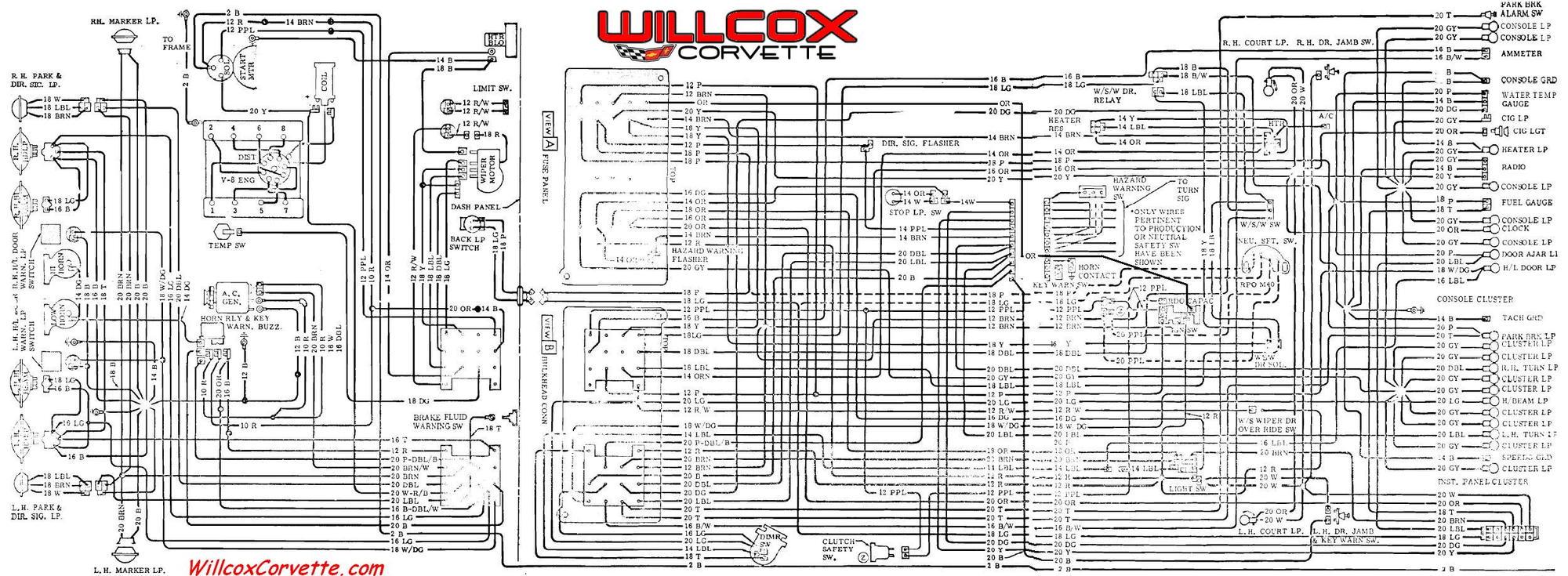 69 C3 Wiring Diagram Corvetteforum Chevrolet Corvette Forum Discussion