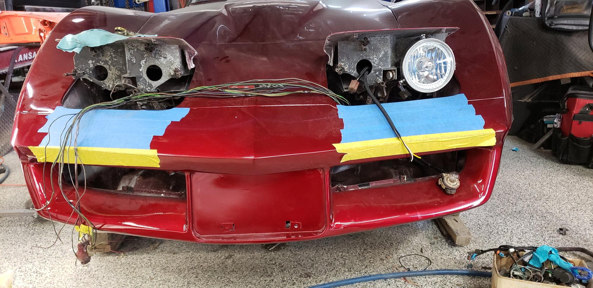 81 headlight wiring - CorvetteForum - Chevrolet Corvette ...