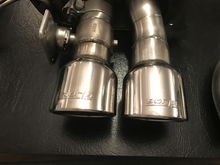 2014-2018  borla attack exhaust with WPP valves for sale!!!!!