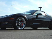 Concord 19/20 on Z06 Black face/Brush windows and Chrome lip