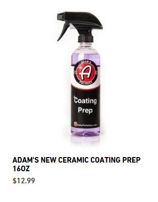 Adams Paint Ceramic Coating Kit Page 2 Corvetteforum