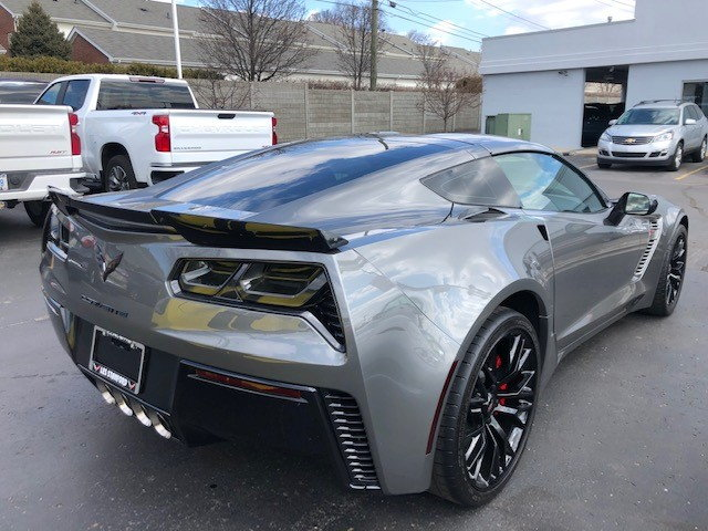 Les Stanford Chevrolet Dearborn >> FS (For Sale) Certified Pre-Owned 2016 Z06 3LZ Shark Gray ...