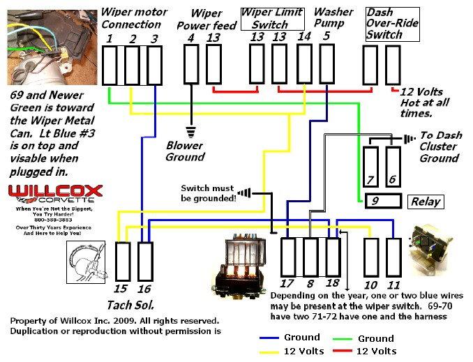 1971 Corvette Wiper Motor Wiring Diagram Nitrous Oxide Wiring Diagram For Wiring Diagram Schematics