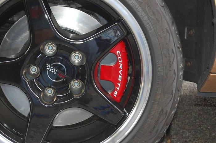 C4 Corvette Brake Lines : Tps corvette c brake upgrade package