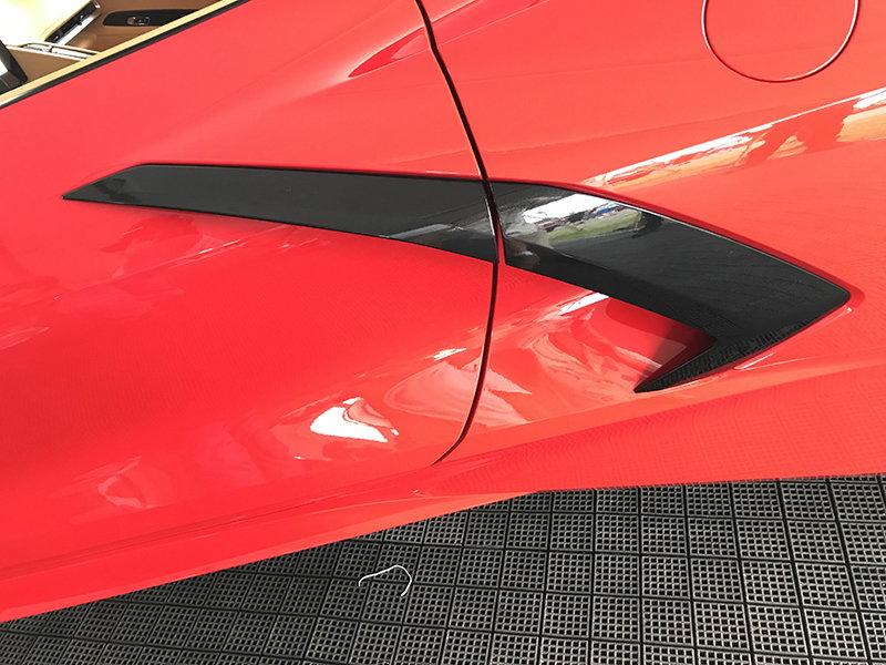 New Apsis C8 Carbon Exterior Door Handle Rear Brake Scoop Replacement Parts Corvetteforum Chevrolet Corvette Forum Discussion