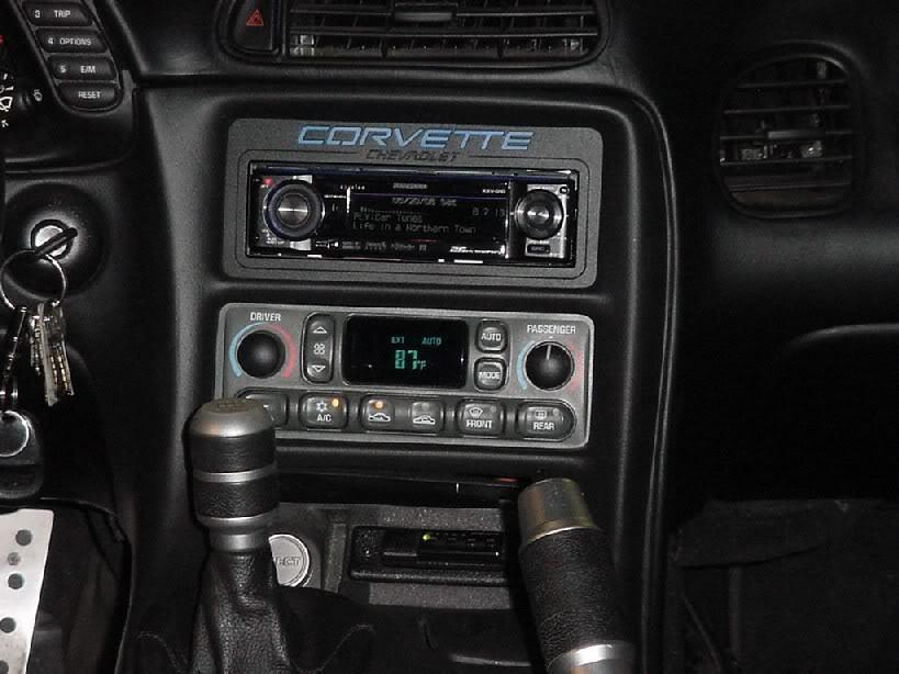 2002 C5 Z06 Sound System Installation Walk Through  U0026 Pics