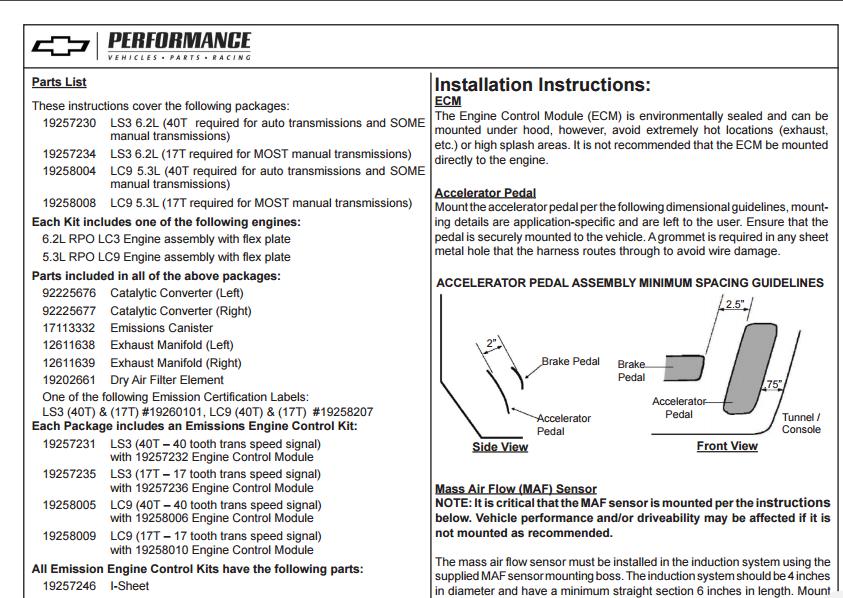 1990 LS3 EROD speedometer output issue - CorvetteForum