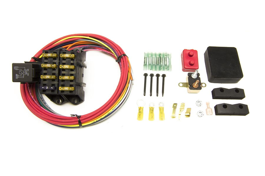 Auxiliary Fuse Block Install In  U0026 39 74