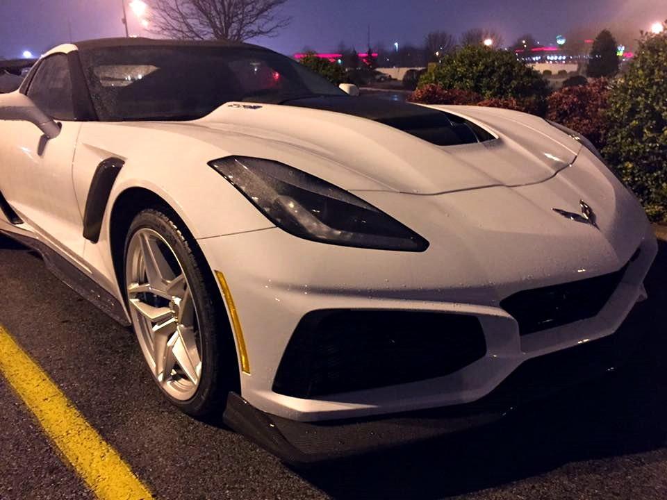 2019 Corvette Zr1 In Ceramic Matrix Gray In Bowling Green
