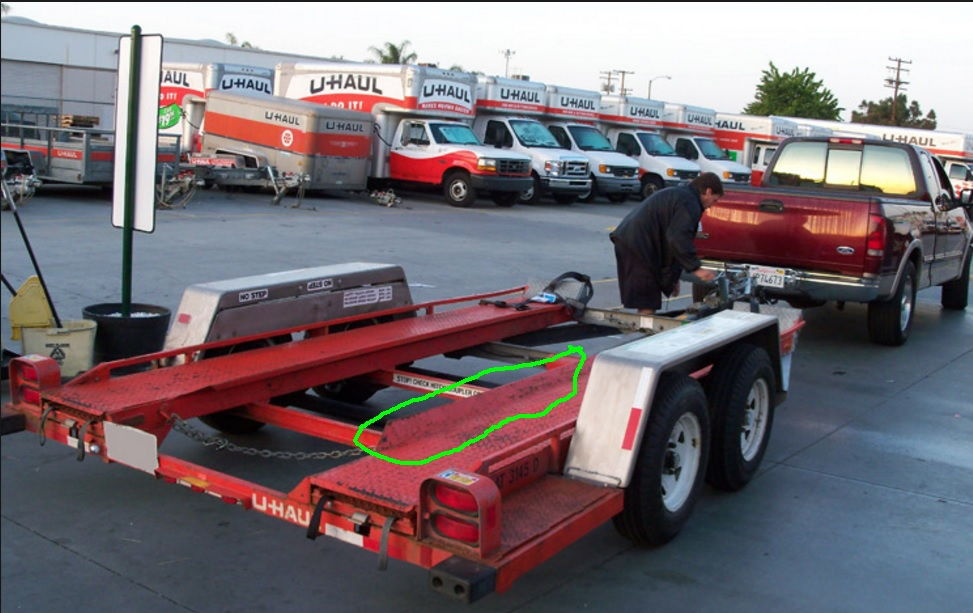 hooking up u haul trailer Buy easy install magnetic towing trailer light tail lights: for towing applications up to 80 in 12v volt magnetic towing trailer light tail light haul kit.
