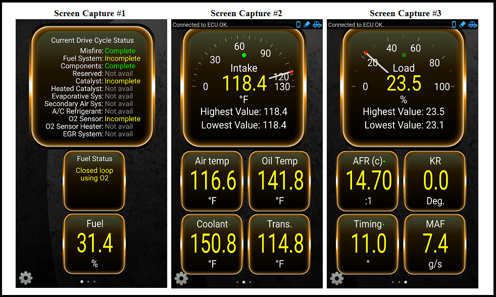 Getting the most out of the Torque app - CorvetteForum - Chevrolet