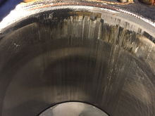 cylinder bore damge