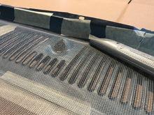 Closeup of trimand secure