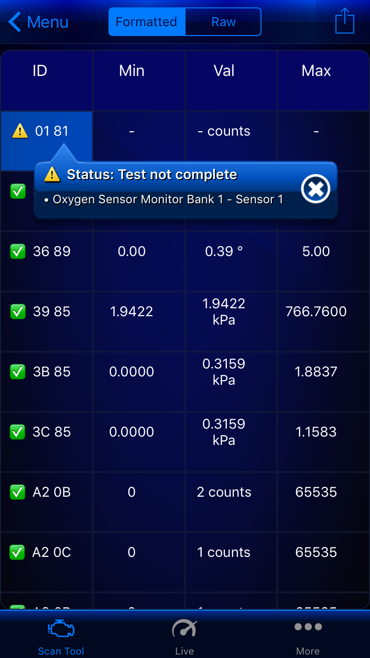 Help: SMOG check fail due o O2 Sensor not ready - EvolutionM
