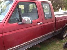 Duke & Jackie's new/old truck