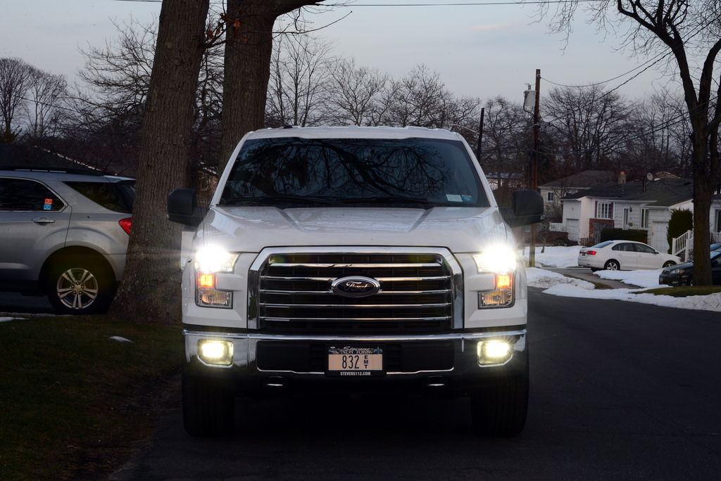 2015 headlight fog light led upgrade pictures ford. Black Bedroom Furniture Sets. Home Design Ideas