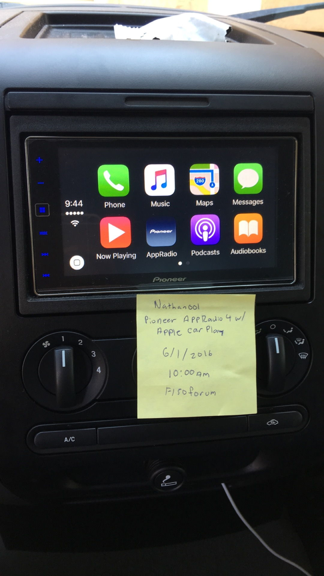 southeast pioneer appradio 4 ford f150 forum community of ford truck fans. Black Bedroom Furniture Sets. Home Design Ideas