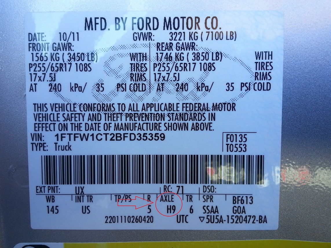 Tow Capacity 2009 Ford F150 Lariat Ford F150 Forum