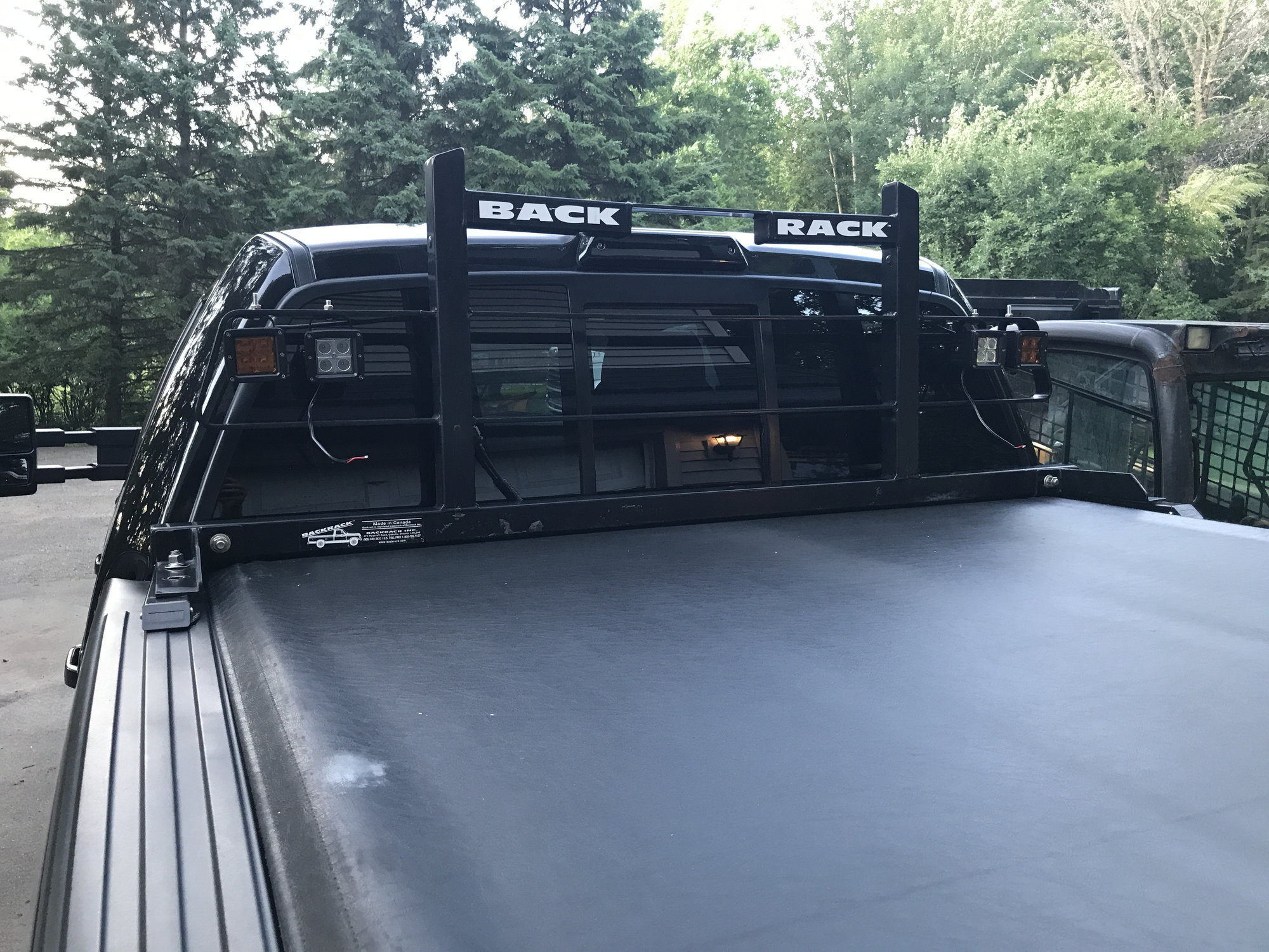 Backrack Headache Rack For Truck With A Tonneau Cover Ford F150