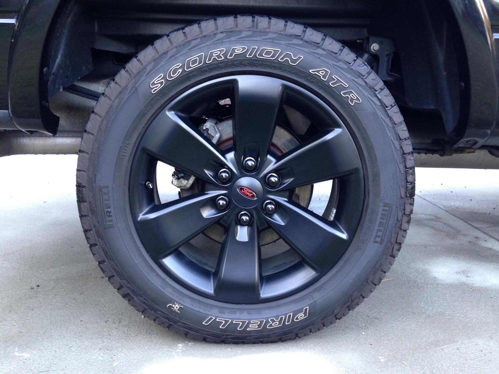 Black Lug Nuts Ford F150 Forum Community Of Ford Truck Fans