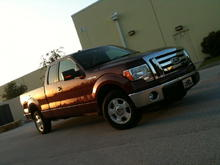 the old 2010 F150 XLT