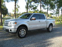 '13 Platinum with the Ecoboost and 3.31's